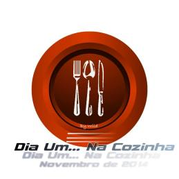 Logotipo Dia Um... Na Cozinha Novembro 2014
